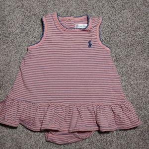 Adorable Polo Ralph Lauren baby dress